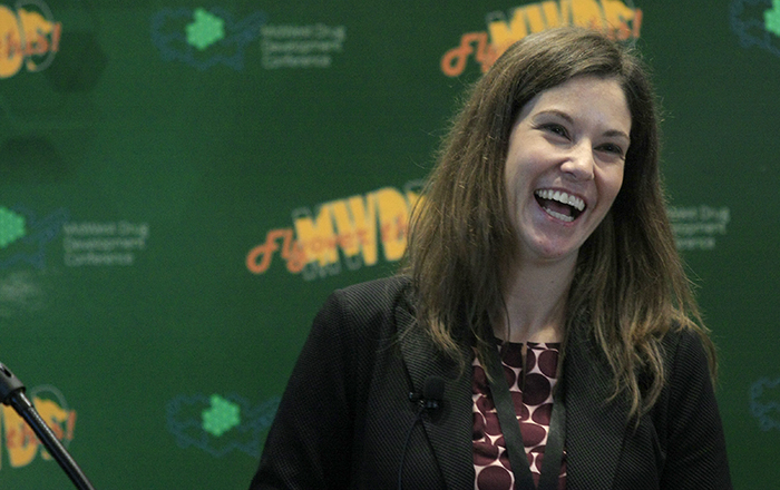 Meredith Wilkerson at the 2019 MidWest Drug Development Conference